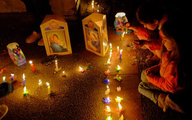 Colombians celebrate Dia se las Viletas in Mosquera in 2016. (Reg Natarajan via Flickr/via JTA)