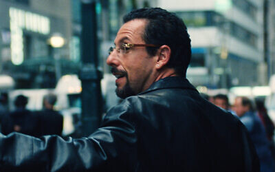 Adam Sandler plays Howard Ratner in 'Uncut Gems.' (Courtesy of A24/via JTA)