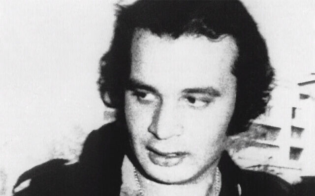 The Black September terror group's chief of operations Ali Hassan Salameh in an undated photo (Courtesy)
