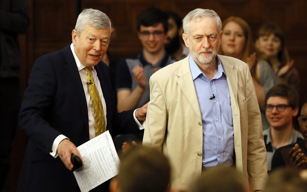 Former UK Labour minister calls on Corbyn to resign immediately