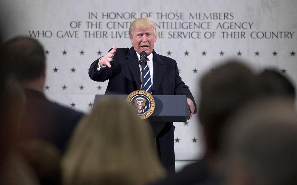 US intelligence agencies distrust unpredictable president