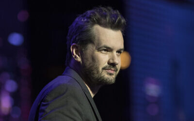 Australian comedian Jim Jefferies performs at the Avalon Theater in Hollywood, California on December 7, 2017 (Dustin Snipes/Red Bull Content Pool via AP Images)
