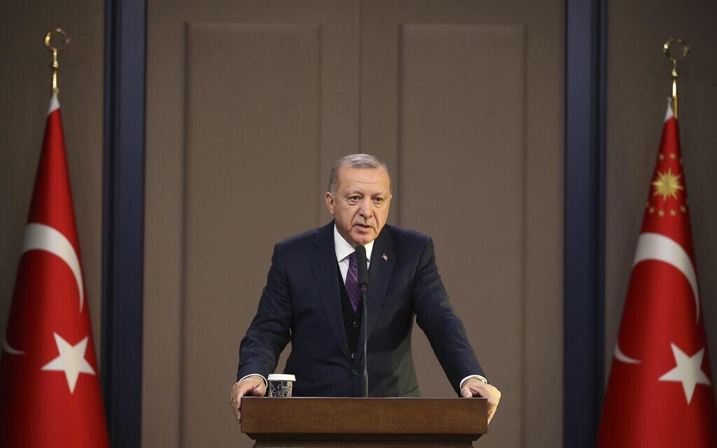 Turkey's Erdogan says Israel executing girls, elderly