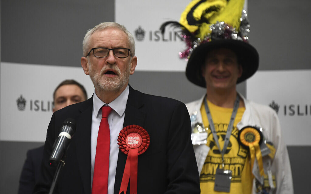 After Labour nose-dive, Corbyn says he will resign by next election