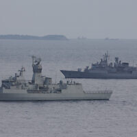 File: Turkish navy ships in 2015 (AP Photo/Lefteris Pitarakis)