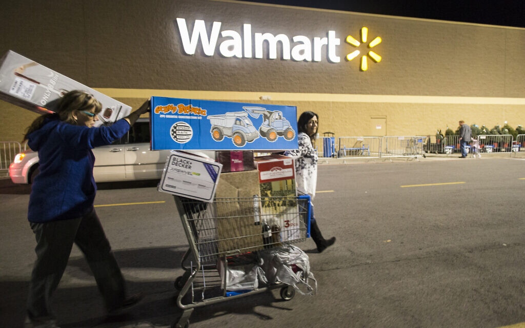 Speculation Walmart coming to Israel causes local supermarket shares to dip