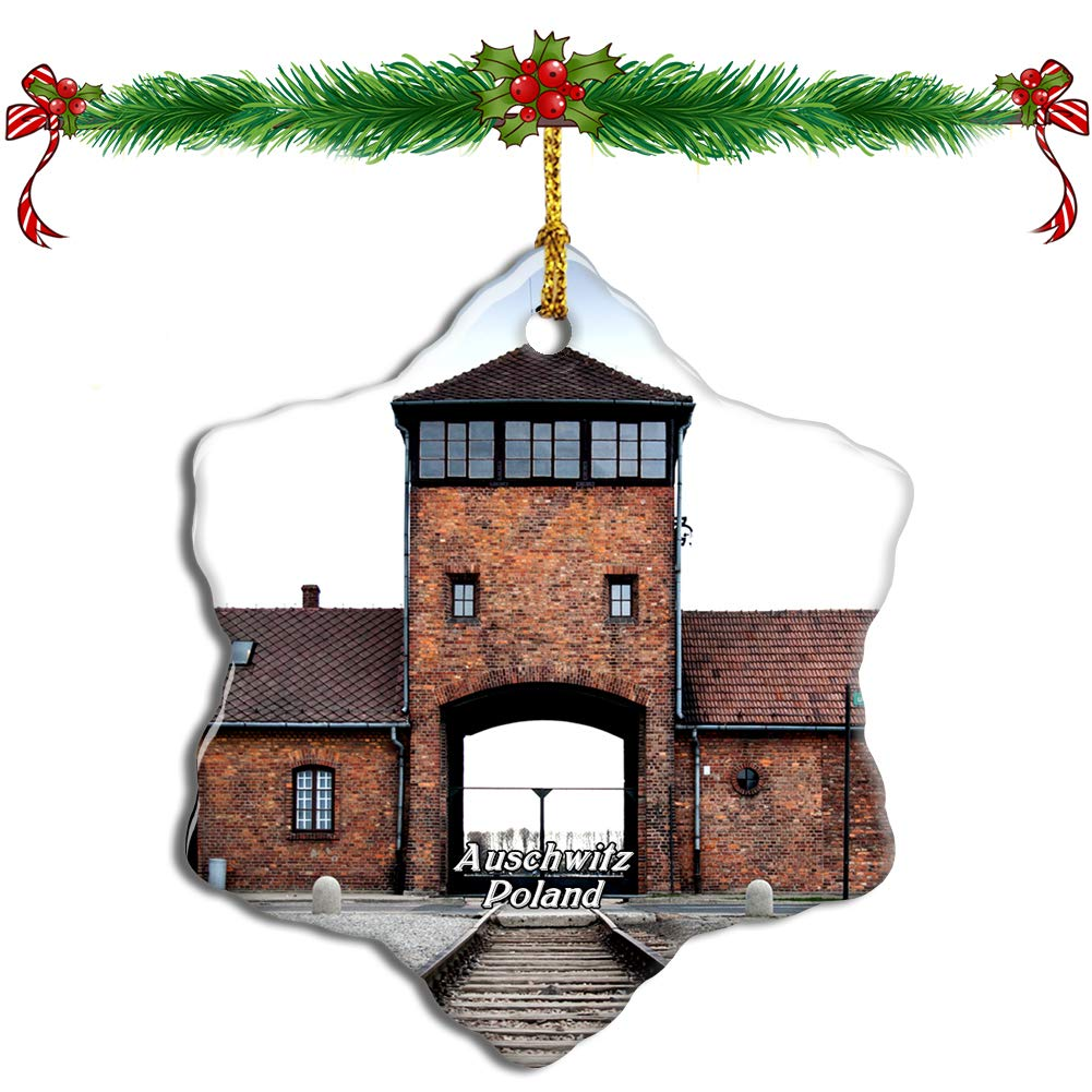 Amazon pulls Auschwitz-themed Christmas tree decorations and bottle openers from website