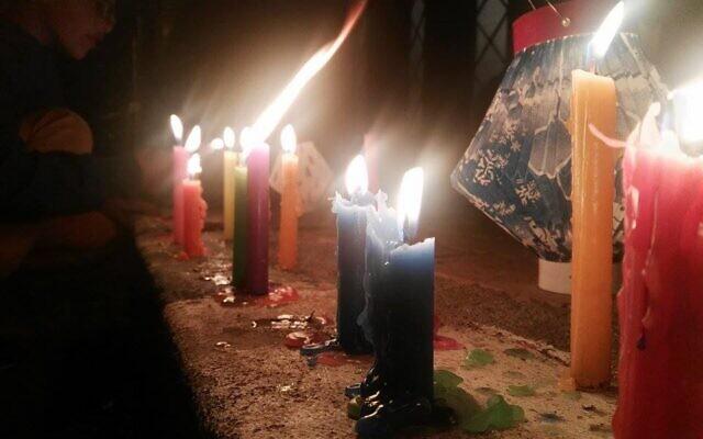 Colombians celebrate Dia se las Viletas in Mosquera, December 7, 2017. (CC/SA-4.0/ Melissa Álvarez)
