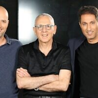 Crescendo Venture Partners' management team, left to right: managing general partner Yuval Avni, general partners Zvi Schechter and Tal Mizrah (Courtesy)