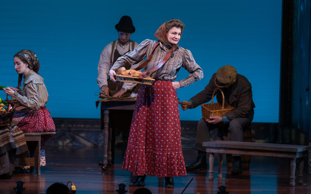 Scene from 'The Sorceress,' on stage through December 29, 2019, at New York's The National Yiddish Theatre Folksbiene. (courtesy)