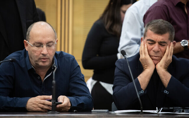 Israel parliament set to dissolve itself, head into third elections