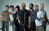 The cast of 'Fauda.' (Ohad Romano/via JTA)
