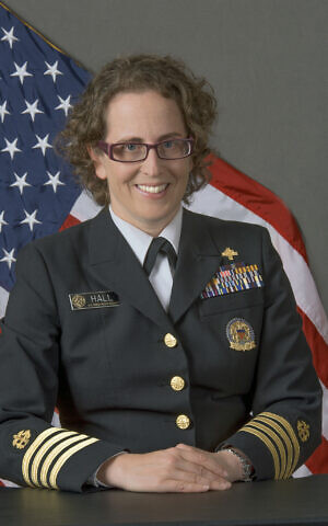 Cpt. Dana Hall of the US Public Health Service. (Courtesy)
