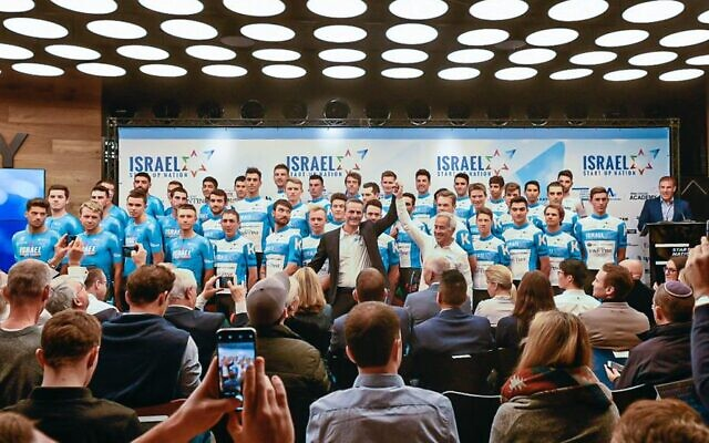 The Israel Start-up Nation (Israel Cycling Academy) professional team roster to compete in the 2020 Tour de France (Noa Arnon)