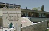 Screen capture of the American Joint Distribution Committee's office in Jerusalem. (Google Streetview)