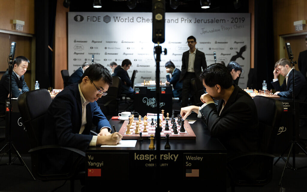Elite world chess event begins in Israel, as organizers seek opening for more