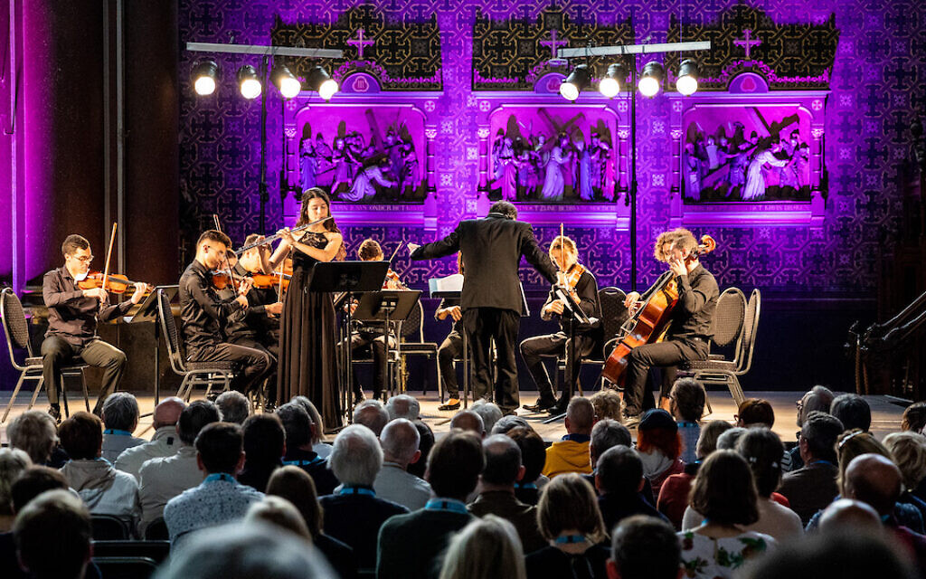With Jewish and Arab musicians, Nazareth conservatory puts on first festival