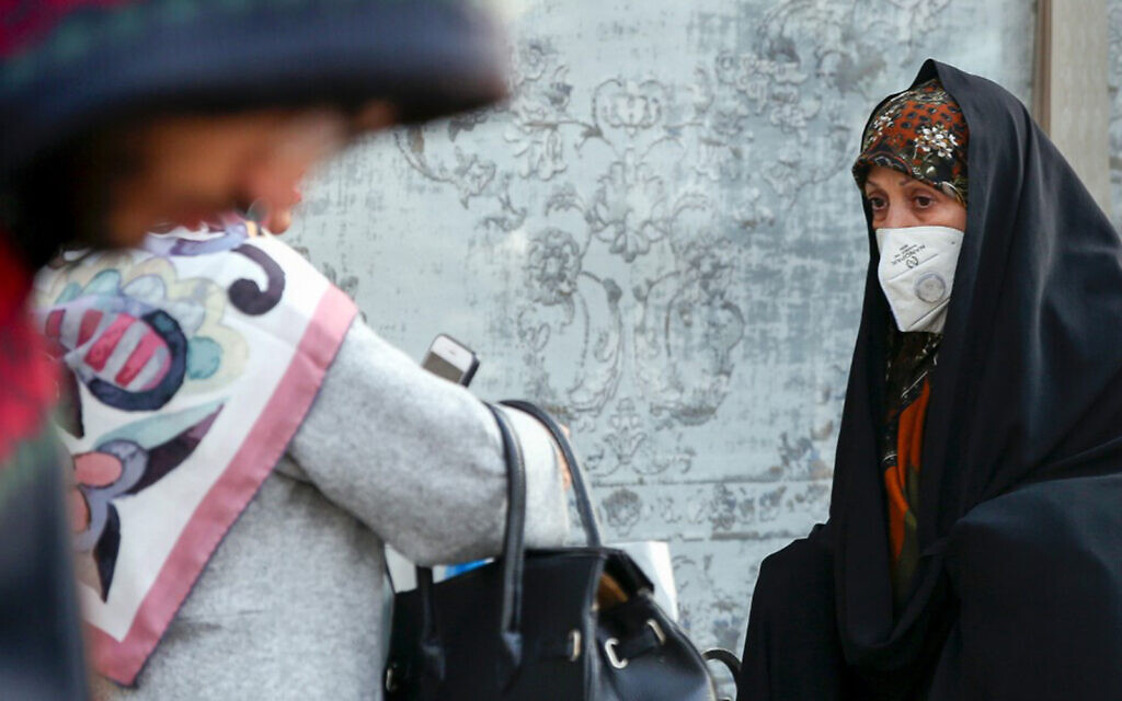 Thick cloud of smog forces schools shut in Iran
