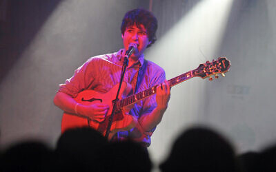 Vampire Weekend, with Ezra Koenig on vocals, performs during a day party at the SXSW Music Festival in Austin, Texas, March 13, 2008. (AP Photo/Jack Plunkett)