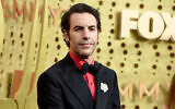 Sacha Baron Cohen arrives at the 71st Primetime Emmy Awards, September 22, 2019, at the Microsoft Theater in Los Angeles. (Jordan Strauss/ Invision/AP)