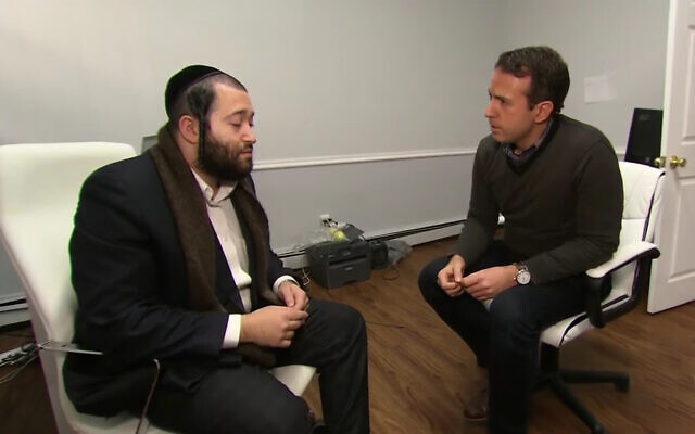 David Lax, a survivor the Jersey City kosher supermarket shooting, speaks with NBC news in an interview broadcast on December 12, 2019. (YouTube screenshot)