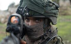 IDF special forces take part in an exercise  in Cyprus simulating war in the north in December 2019. (Israel Defense Forces)