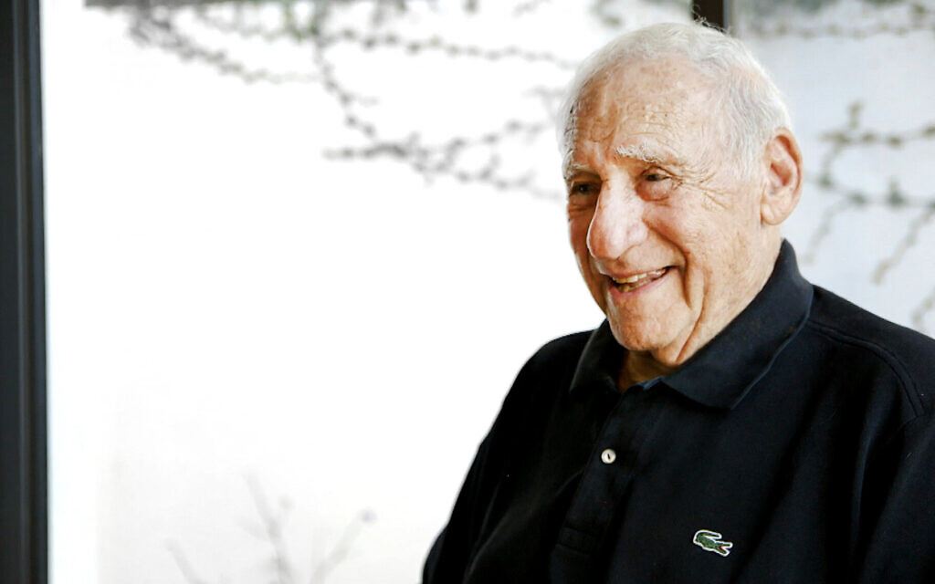 Mel Brooks on 'Mel Brooks Unwrapped': 'It is kind of a walk through my life, a memoir. Some of it is funny and some of it is moving and touching.' (HBO via JTA)