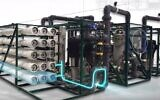 Desalitech's reverse osmosis water purification technology (YouTube screenshot)