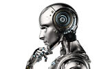 Illustrative image of a robot, Artificial Intelligence (AI); (PhonlamaiPhoto; iStock by Getty Images)