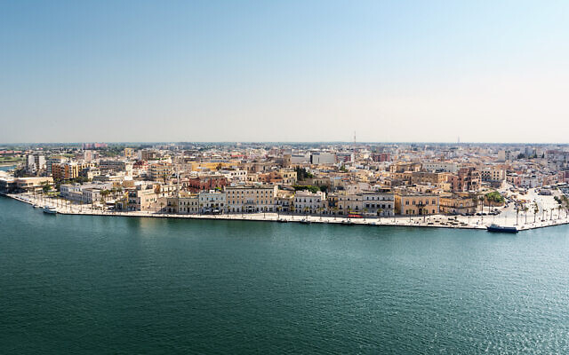 A view of the upper part of the historic center of Brindisi, Italy. (Angelo D'Amico/iStock)