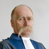 Judge Péter Kovács (Courtesy ICC-CPI/Max Koot)