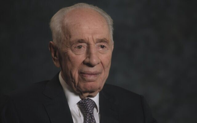 From Richard Trank's documentary about Shimon Peres, 'Never Stop Dreaming' currently being screened at the 2019 Jerusalem Jewish Film Festival (Courtesy Jerusalem Cinematheque)