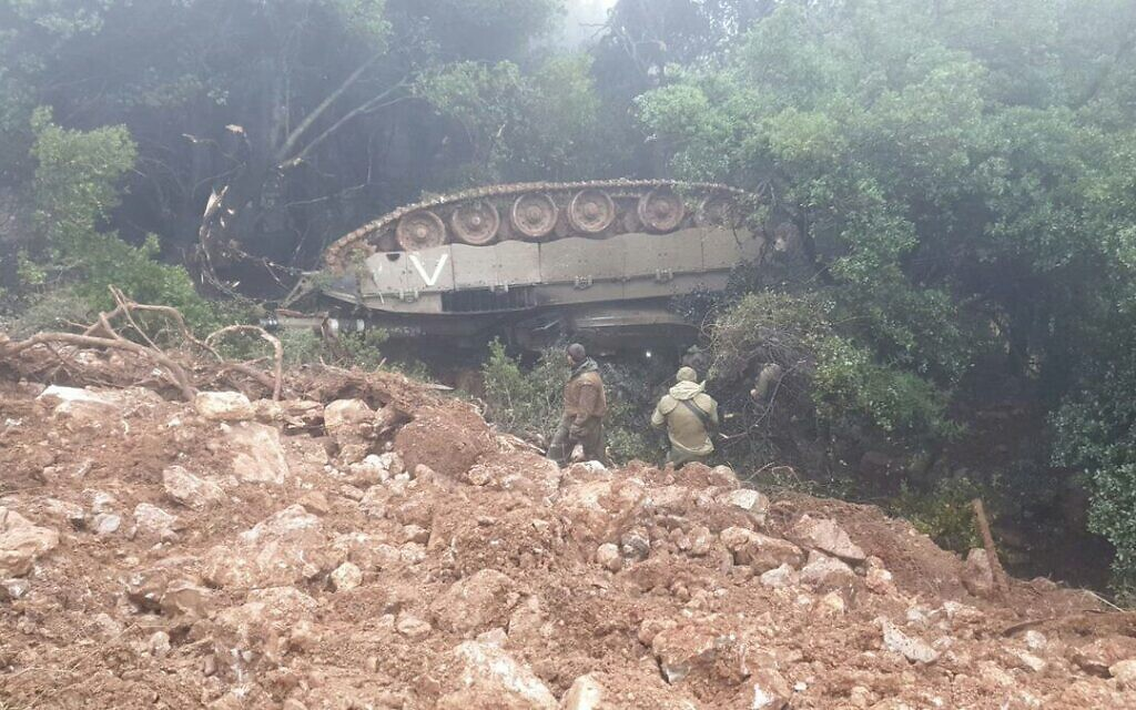 Northern Command halts all exercises after tank flips during training