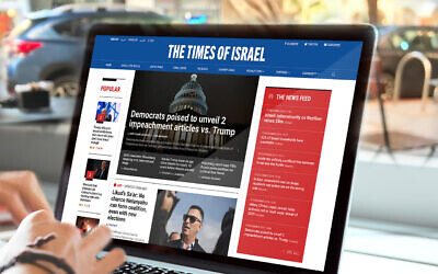 The Times of Israel, ads-free (RGB media for ToI)