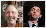Matt Lieberman, left, (Ron Kampeas/JTA) and Jon Ossoff. (AP Photo/David Goldman)
