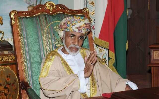 Oman's Sultan Qaboos Bin Said is pictured during a cabinet meeting at the royal palace in Muscat, Oman, November 1, 2015. (Stringer/AFP)