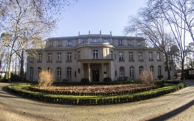 The House of the Wannsee Conference is seen on January 16, 2020 in Berlin. (Paul Zinken / dpa / AFP)