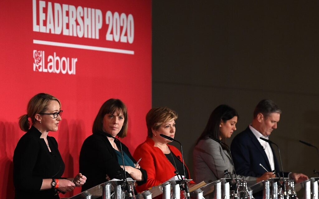 At first debate, UK Labour leadership rivals vow to take on anti-Semitism