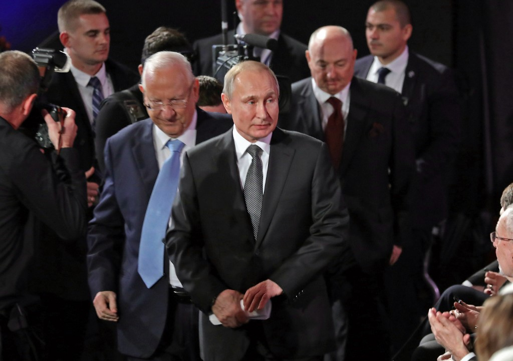 Us Evangelical Leader Announces He Ll Give Friends Of Zion Award To Putin The Times Of Israel
