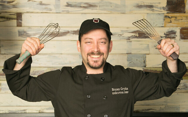 Bryan Gryka, the chef and general manager of Milt's Barbeque for the Perplexed, will now be a controlling owner of the kosher restaurant in Chicago. (Courtesy of Gryka via JTA)