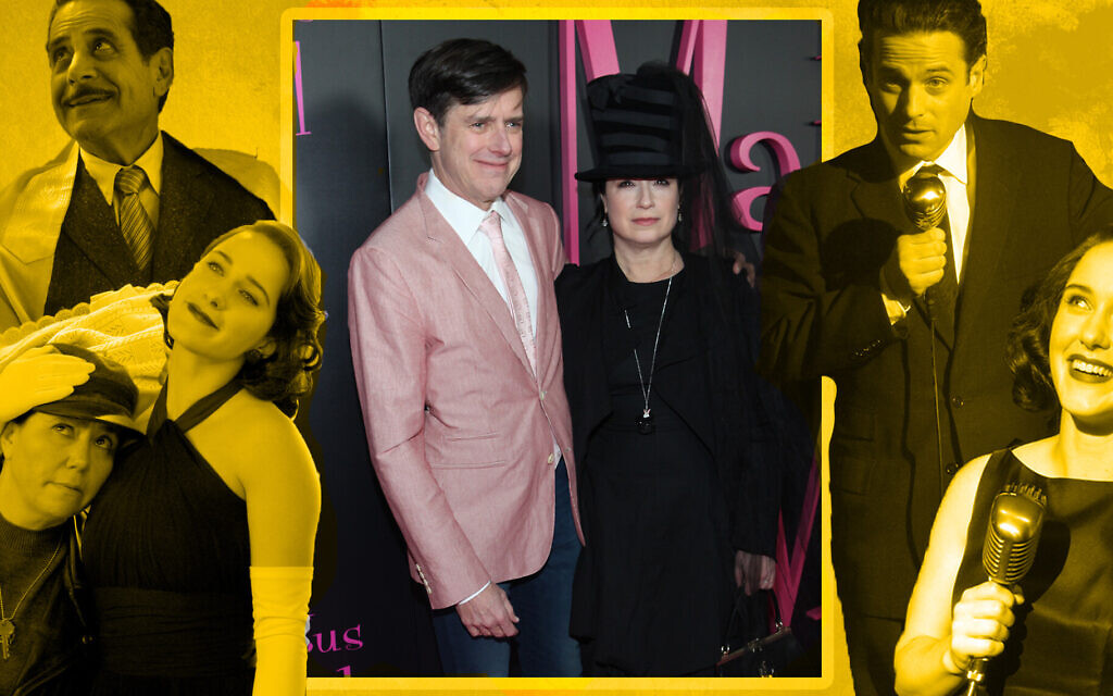 "Dan Palladino and Amy Sherman-Palladino are the husband and wife team behind ""The Marvelous Mrs. Maisel."" (Steve Zak Photography/Getty Images/Amazon Prime via JTA)"