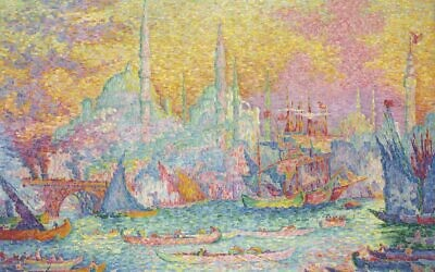 Paul Signac's La Corne d'Or, 1907 (Courtesy)