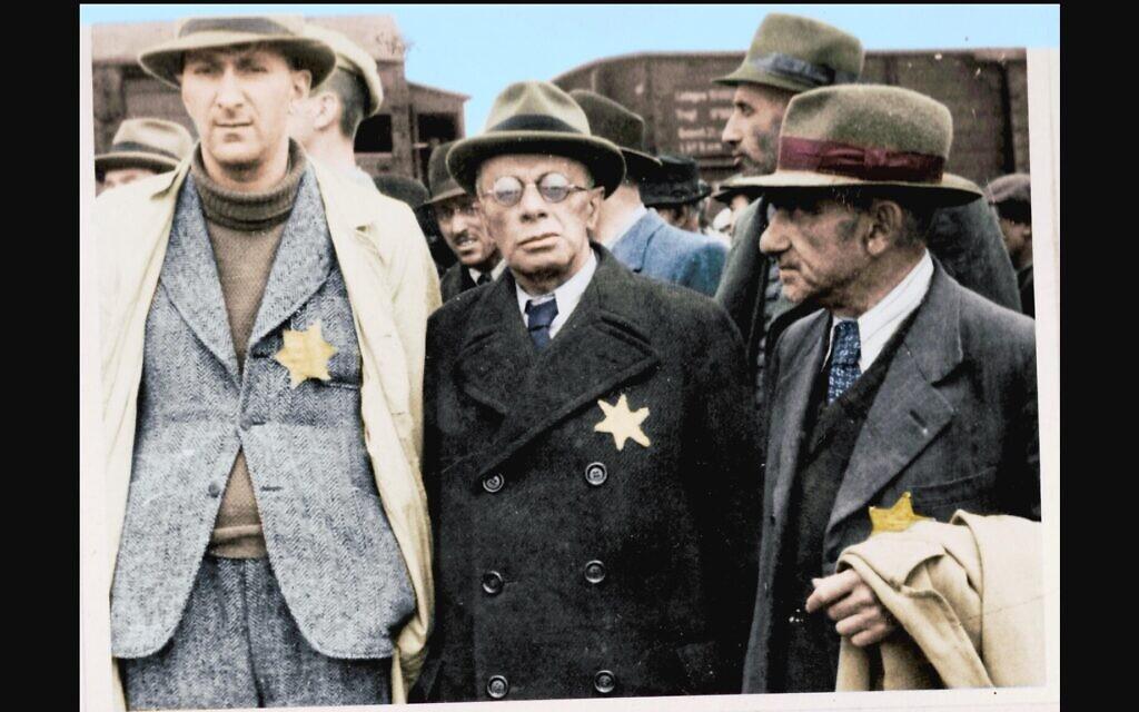 Still from 'Auschwitz: Untold in Color.' (Serge Klarsfeld/ Lily Jacob-Zelmanovic Meier)