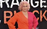 """This photo from July 25, 2019, shows Jenji Kohan at the final season premiere of Netflix's """"Orange Is the New Black"""" in New York. (Charles Sykes/Invision/AP, File)"""