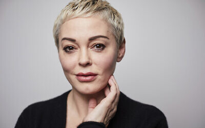 Rose McGowan poses for a portrait in New York on January 3, 2020. (Matt Licari/Invision/AP)