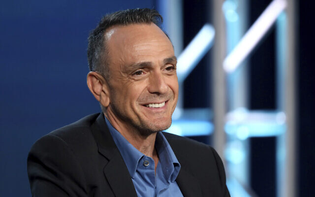 In this January 16, 2020 file photo, Hank Azaria speaks during the AMC Networks TCA 2020 Winter Press Tour in Pasadena, California. (Photo by Willy Sanjuan/Invision/AP)