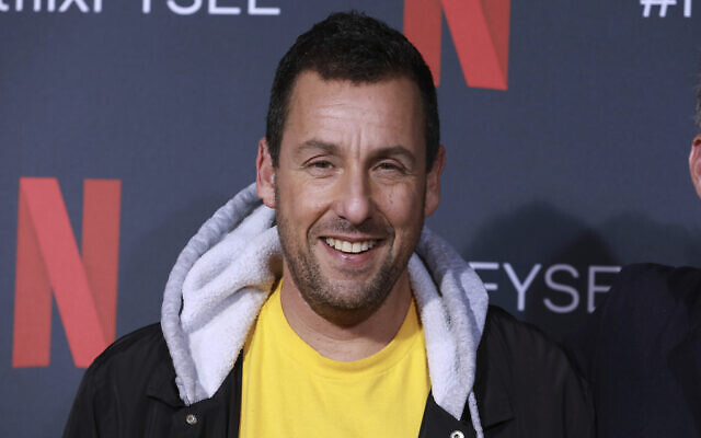 Adam Sandler at the 'Adam Sandler: 100% Fresh' FYC event in Los Angeles on May 29, 2019. (Mark Von Holden/Invision/AP, File)