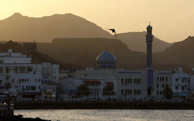 View of the seafront in Muscat, Oman, Feb. 12, 2010.(AP Photo/Christophe Ena)