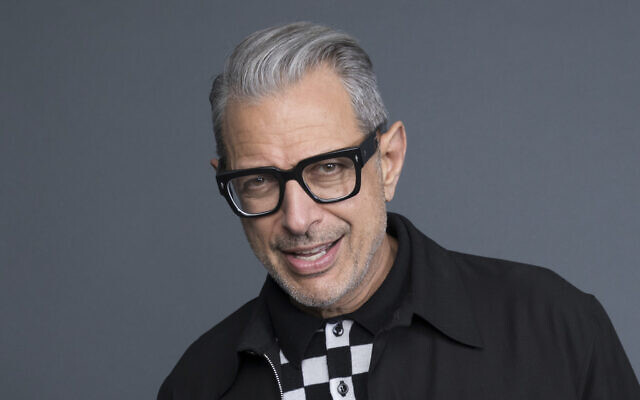 """Jeff Goldblum poses at the Disney + launch event promoting """"The World According to Jeff Goldblum"""" at the London West Hollywood hotel on Saturday, Oct. 19, 2019, in West Hollywood, Calif. (Photo by Mark Von Holden/Invision/AP)"""