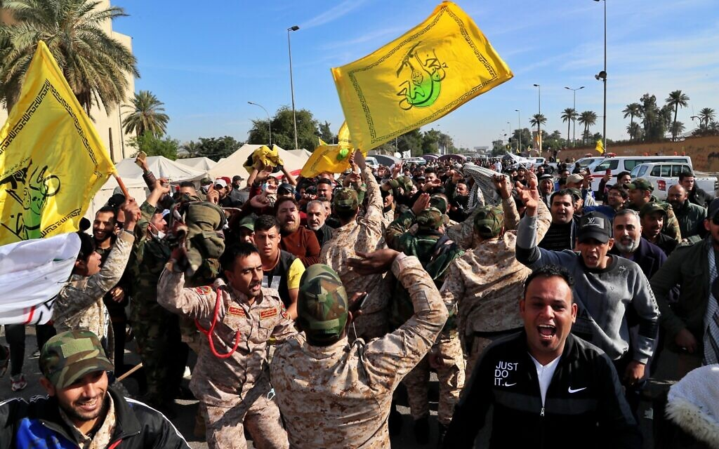 Senior pro-Iran militia official among several killed in Baghdad airport strike